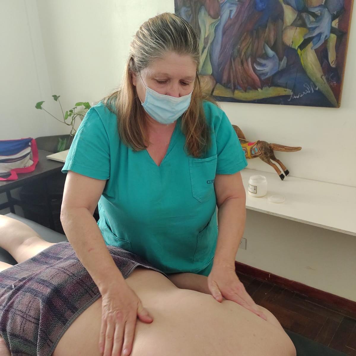 Silvia Masajes en Quilmes